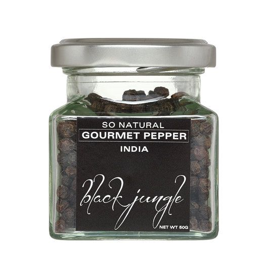 Black Jungle Peppercorns (India)