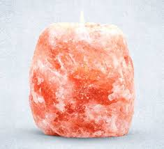Himalayan Salt Natural Tea-Light holder (approx. 1kg)